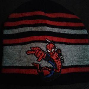 Spider-man kids beanie